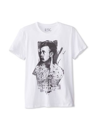 55% OFF R3C by Reception (LAB) Men's James Dean Short Sleeve Graphic T-Shirt (Ivory)