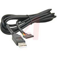 FTDI - TTL-232R-3V3 - CABLE,  ASSEMBLY; USB-SERIAL TTL; 6 COND.; 24AWG; 3.3V…