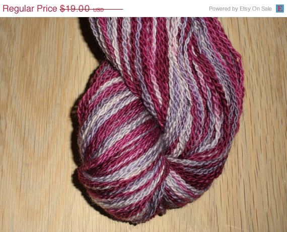 """Christmas in July Phat Fiber November """"Renaissance"""" - Luxury Hand Dyed Bluefaced Leicester Wool Sock Yarn, 2-ply"""