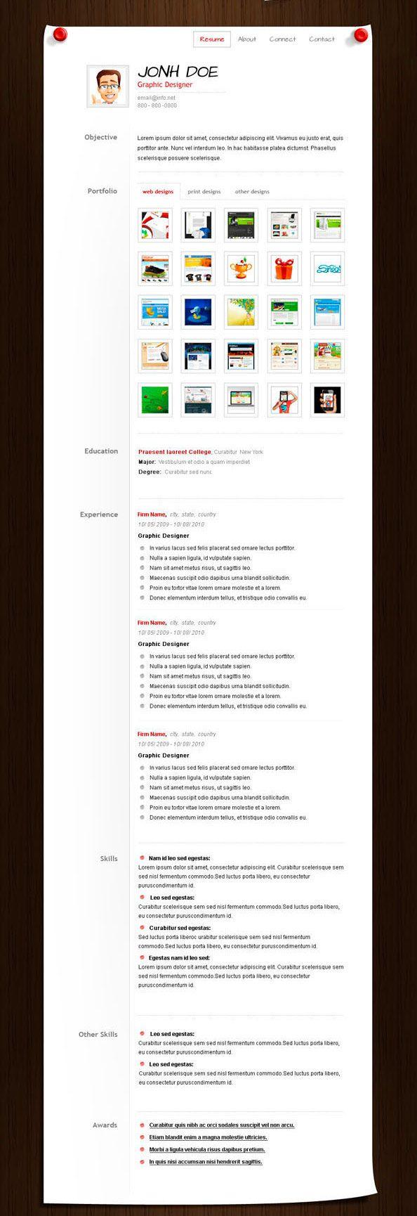 Mejores 17 imágenes de CV en Pinterest | Cv creativo, Currículum y ...