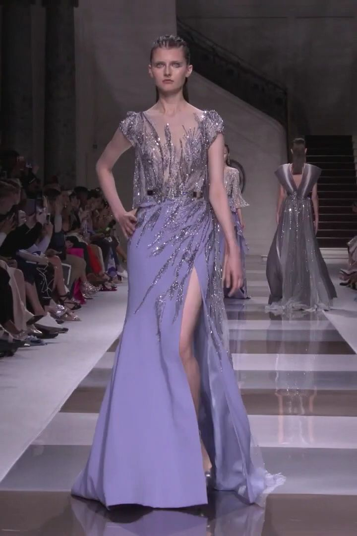 Ziad Nakad Look 23. Fall Winter 2019/2020 Haute Couture Collection
