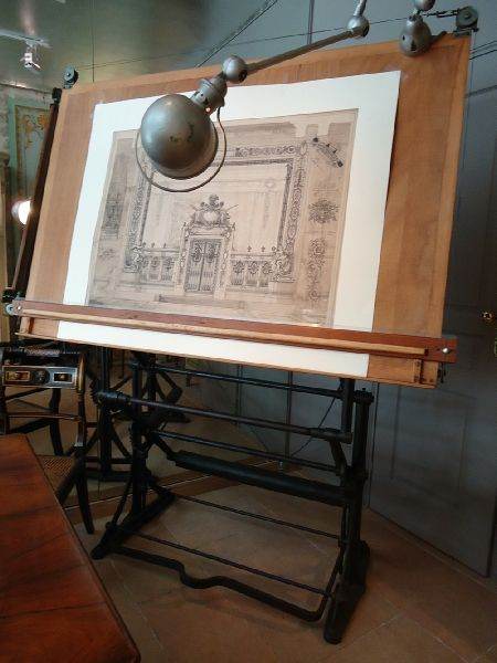 24 best ideas about vintage drafting table on pinterest for Table a dessin architecte