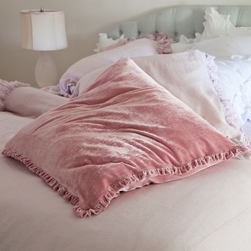I love all things pink, especially pillows!