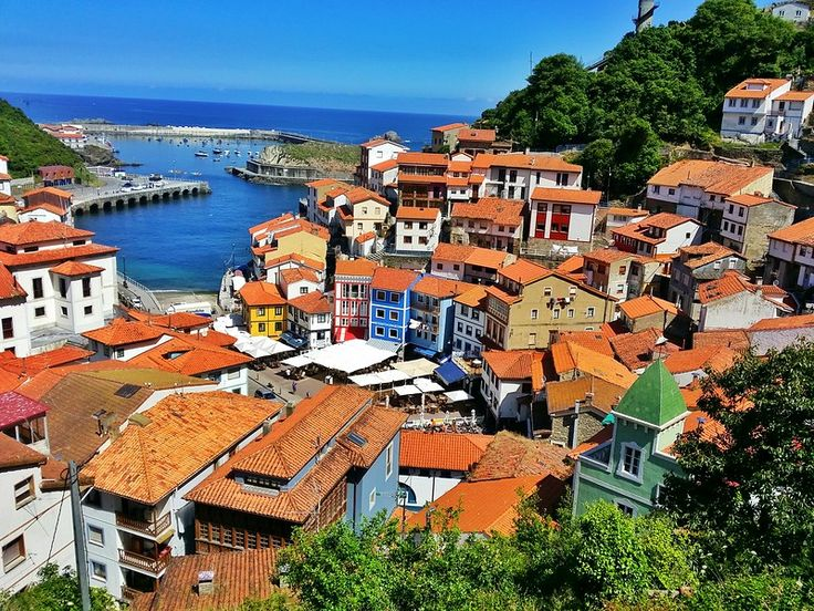 Cudillero, one of the prettiest fishing villages in Northern Spain.
