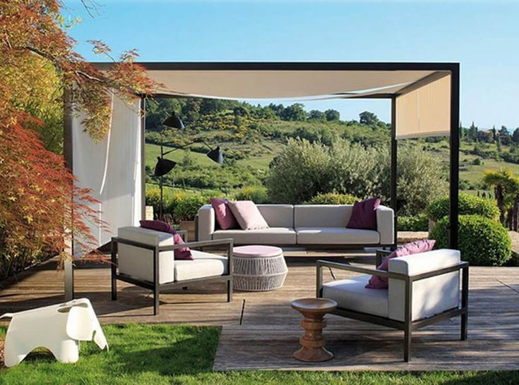 Marvelous Most Of The Time, People Choose Pergola Furniture With Combination Of Color  And Style Of