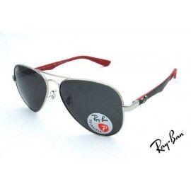 8fcff70668 ... amazon ray ban rb8395 aviator sunglasses silver frame grey lens 4085b  9047e