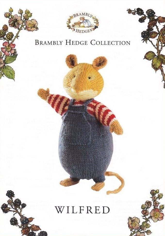 Brambly Hedge_ WILFRED _Original Toy Knitting Pattern_By Alan Dart