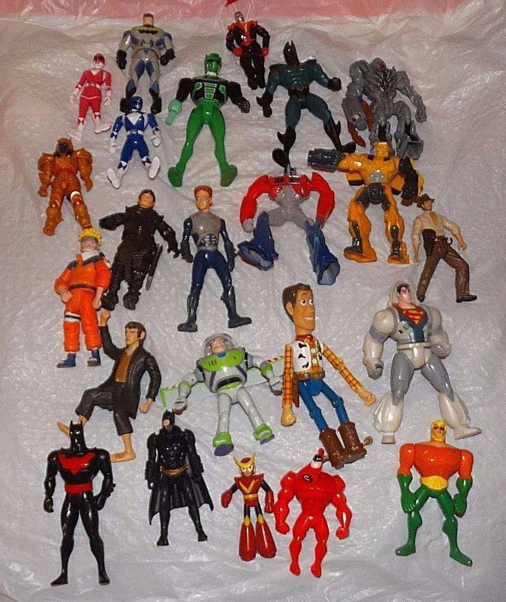 Lot Of 23 Superheros Action Figures Including Batman, Superman, Power Rangers   Toys & Hobbies, Action Figures, Mixed Lots   eBay!