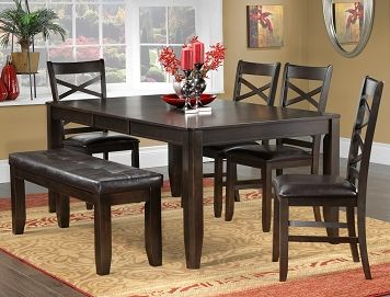 The Gina Collection 6 Pc Dinette Leonsca Casual Dining RoomsDining