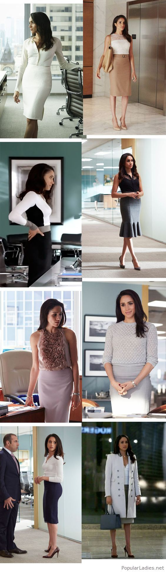 Awesome Rachel Zane outfits for office