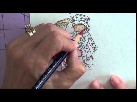 Another Pinner Wrote: LOTV's Ideas to Inspire: Inktense Pencils… Great video tutorial