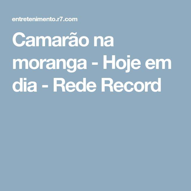 Camarão na moranga - Hoje em dia - Rede Record