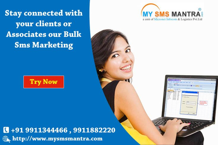 Bulk Sms Marketing gives people an opportunity to communicate to people without much expense. Thus, mobile technology has improved the way in which people communicate with each other. @ https://goo.gl/bwBvf