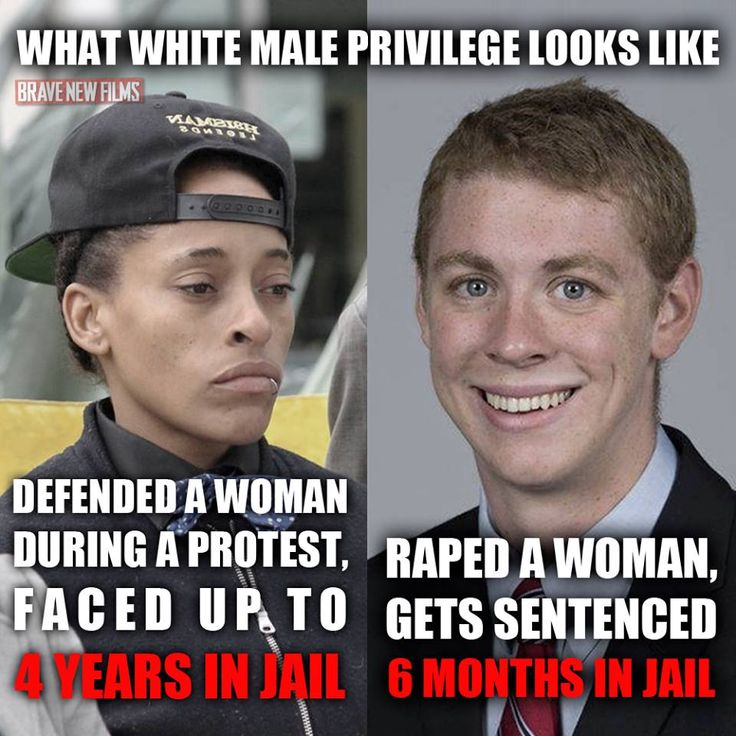 """This is what #WhitePrivilege #MalePrivilege looks like: #BlackLivesMatter organizer Jasmine """"Abdullah"""" Richards faced up to 4 YEARS in prison for defending a woman during a protest. Meanwhile, Stanford student athlete Brock Turner rapes an unconscious woman and was sentenced to a mere 6 MONTHS in jail."""