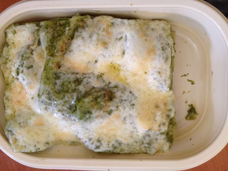spenótos lasagne (tojással) - Interfood