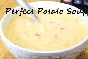 Perfect Potato Soup For A Winter Day