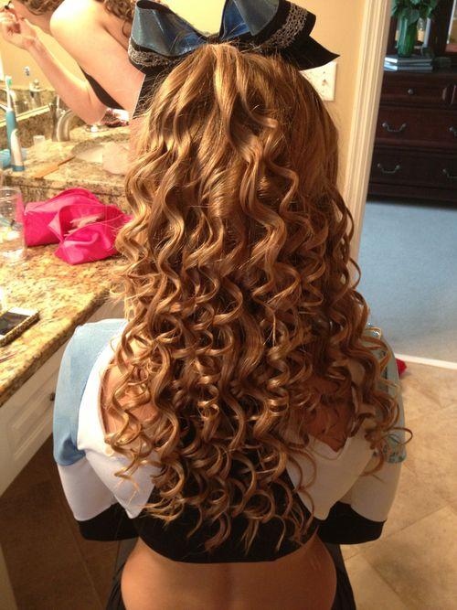 that perfect cheer hair.