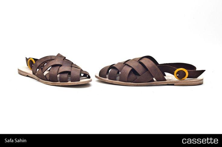 Safa Şahin / Mallorca Sandalet >>> http://shop.cassette.com.tr/safa-sahin---mallorca-sandalet