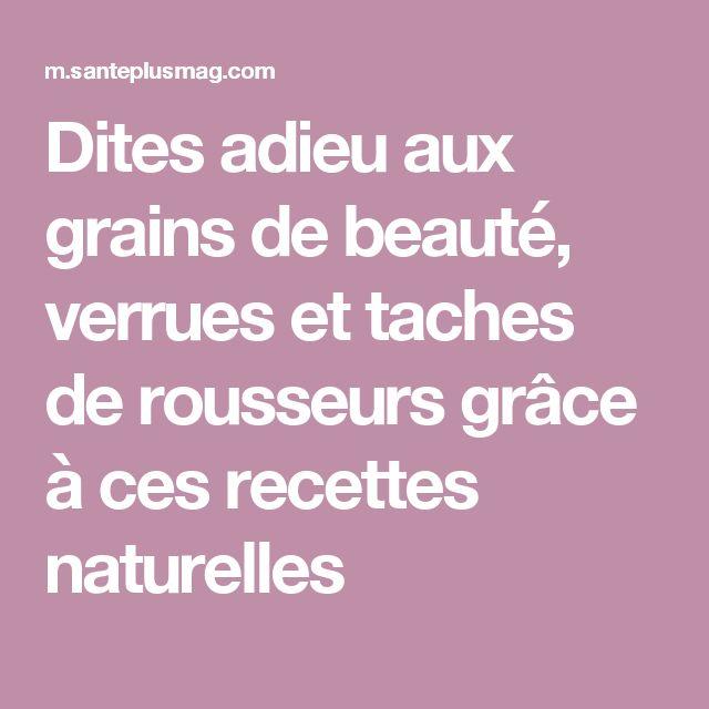 Dites adieu aux grains de beauté, verrues et taches de rousseurs grâce à ces recettes naturelles