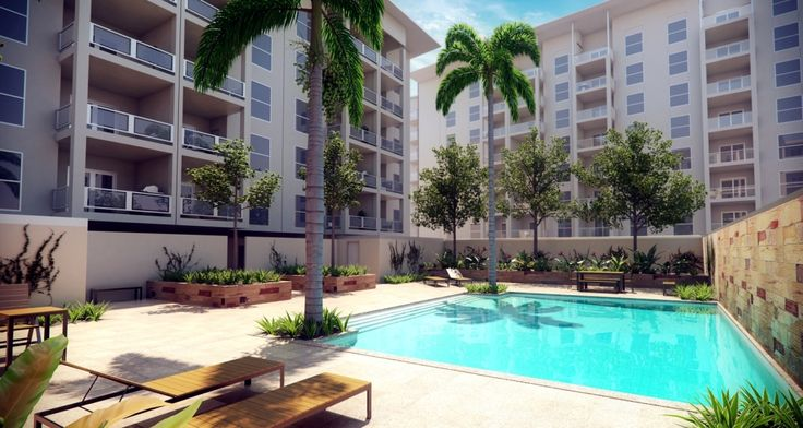 Archiplan // Harmony Apartments Cockburn Central // 500 Apartments // Pool
