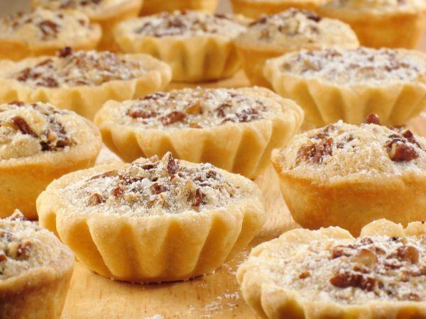 Orechové košíčky - Recept pre každého kuchára, množstvo receptov pre pečenie a varenie. Recepty pre chutný život. Slovenské jedlá a medzinárodná kuchyňa