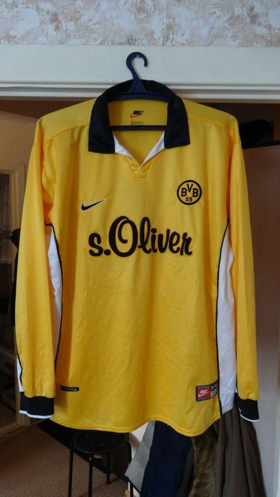 new arrival d2849 bd977 eBay #Sponsored Vintage Nike BVB Borussia Dortmund Jersey 14 ...
