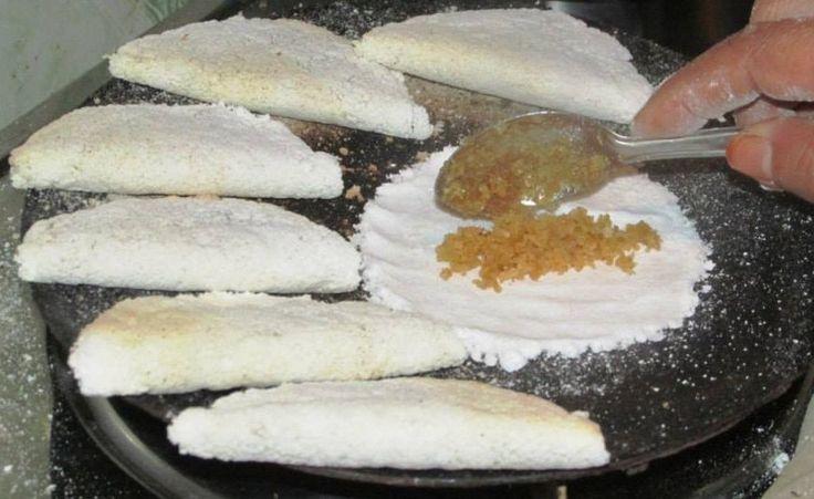 Narikol pitha - a type of Assamese delicacy