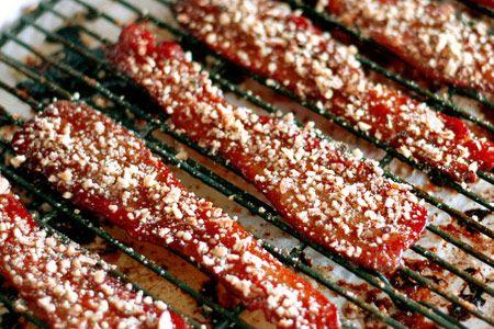 Praline BaconChristmas Morning, Bacon Recipe