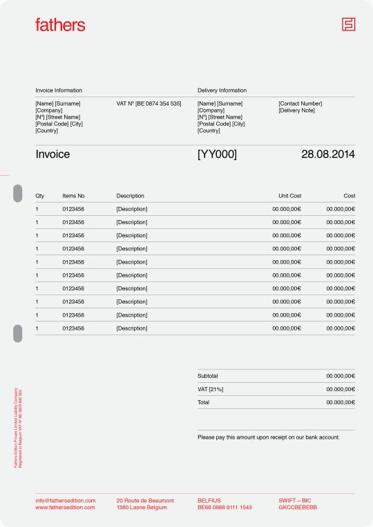 The 22 best images about Invoice Design on Pinterest Examples - free invoice design