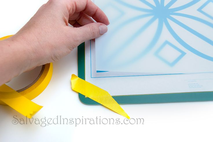 DIY Stencil from Mylar or any Transparent Plastic Sheet