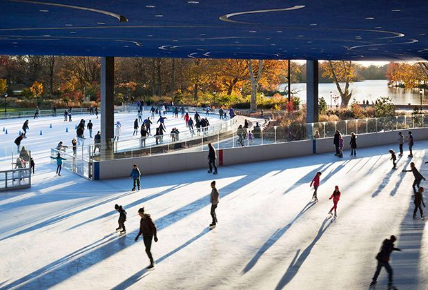 Outdoor Skating Rinks in NYC