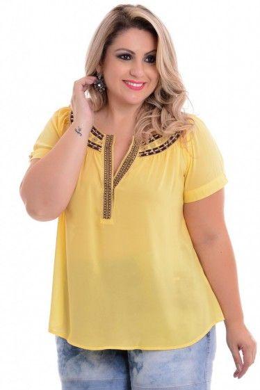 Blusa Plus Size Muriel