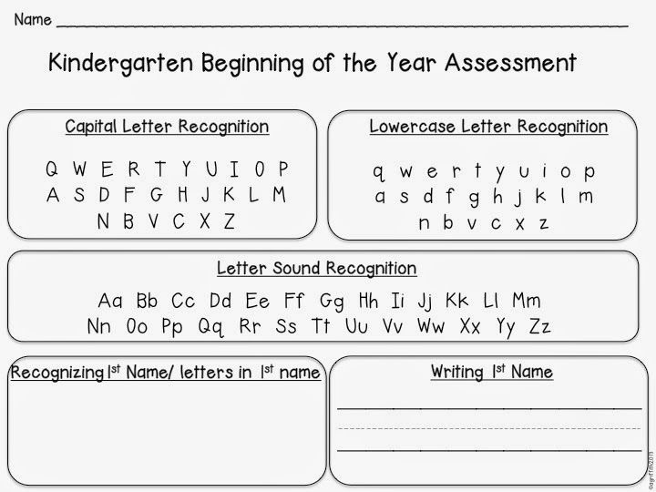 34 best images about Letter Assessment on Pinterest | Student data ...