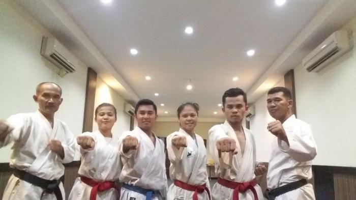 Pada PON Jabar, Karateka Riau Dipusaran Best of The Best