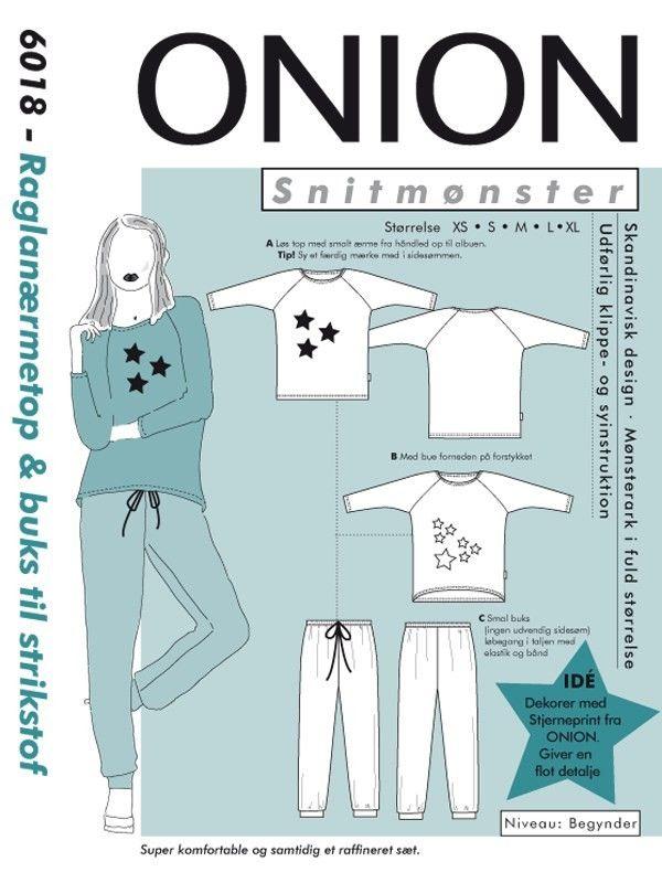 Onion, Schnittmuster - Lindala Onlineshop Stoffe und Zubehör