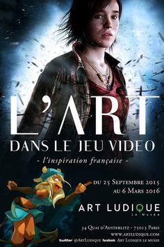 L'art dans le #jeu #vidéo : une exposition au musée Art Ludique