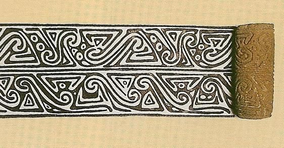 Simetrías – Hileras – Sello Quimbaya