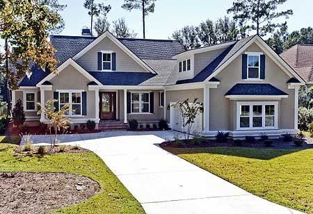 Plan W15031NC: Corner Lot, Traditional House Plans & Home Designs 2393 sf