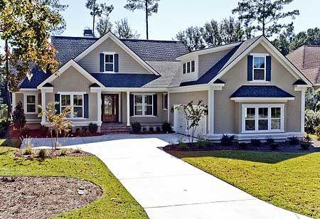 Plan W15031NC: Corner Lot, Traditional House Plans & Home Designs 2393 sf