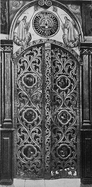 Коровново.-Царские-врата-Преображенской-церкви.-Фото-начала-XX-в.-4.jpg (319×650)