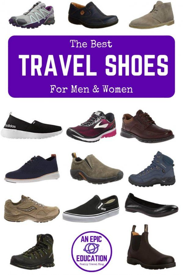 Travel shoes walking