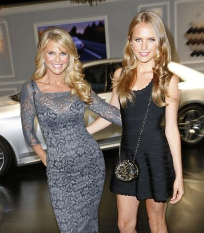 Christie Brinkley and Sailor Cook