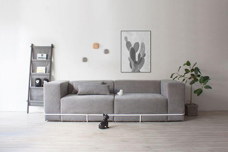 Frame sofa.