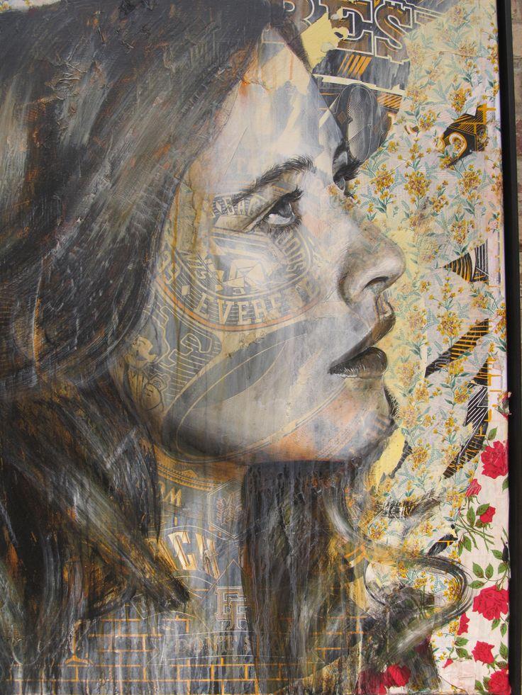 """Artist : Rone...street art """"in London"""""""