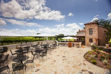 Even Winieries are Bigger in Texas! Wineries to Visit in the Texas Hill Country: Grape Creek Vineyards