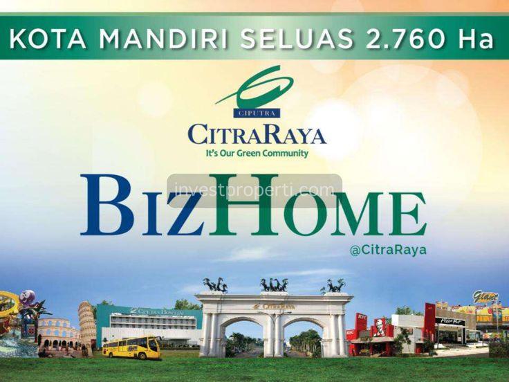 brosur BizHome CitraRaya Tangerang.