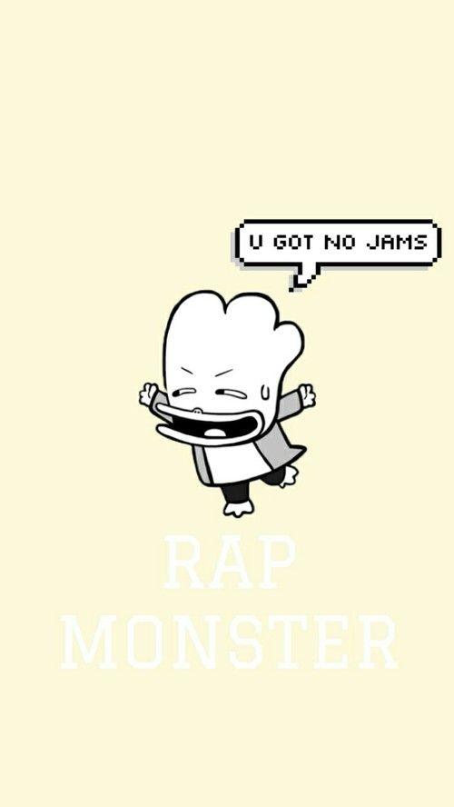 BTS 방탄소년단 - RAP MONSTER - NAMJOON - WALLPAPER