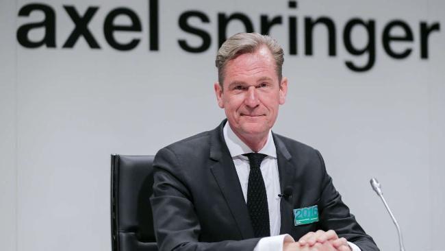 Fall Böhmermann   Erdogan klagt jetzt gegen Döpfner - Politik Ausland - Bild.de