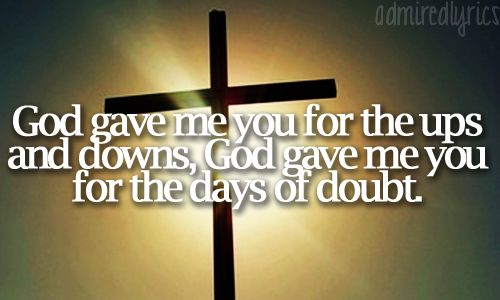 Blake Shelton song lyrics: GOD GAVE ME YOU!