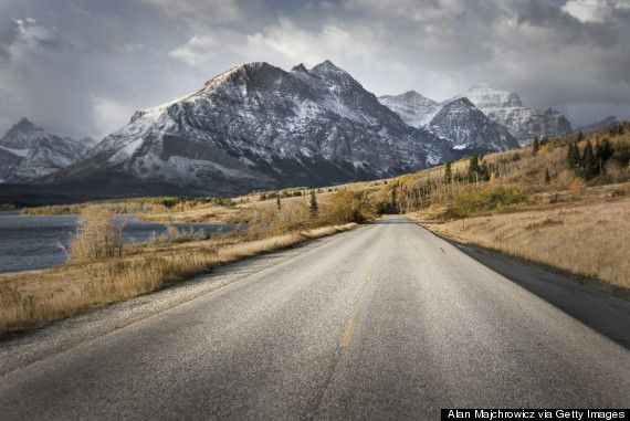 going to the sun road- Montana